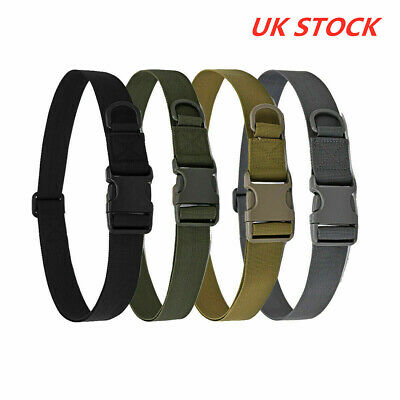 Army Heavy Duty Military Combat Tactical Belt Quick Release Waistband Outdoor UK