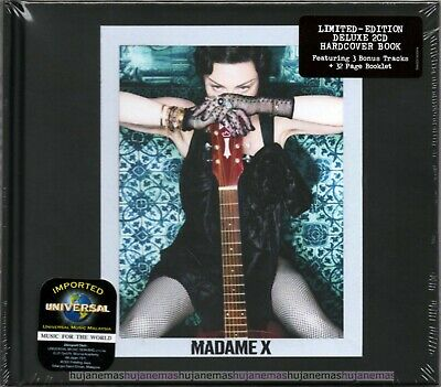 MADONNA Madame X MALAYSIA / GERMANY LIMITED EDITION DELUXE 2 CD NEW FREE SHIP