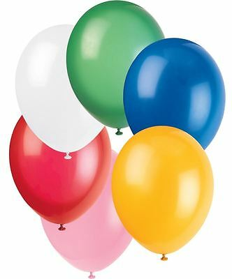 10 X Latex PLAIN  BALLONS helium BALLOONS Quality Party BALOONS Birthday Wedding