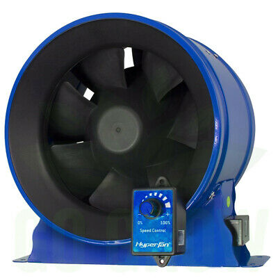 "Phresh HyperFan 6"", 8"" & 10"" w/ Adjustable Speed Controller"