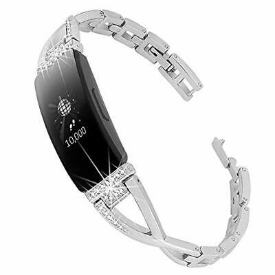 Bling Bands Compatible with Fitbit Inspire HR Jewelry Inspire Replacement Band