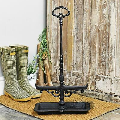 Cast Iron Black Free Standing Boot Scraper