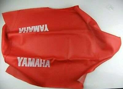 NEW Yamaha DT125 SEAT COVER RED MOTORCYCLE SADDLE DT 125 DTR DT125R 1988 -2003
