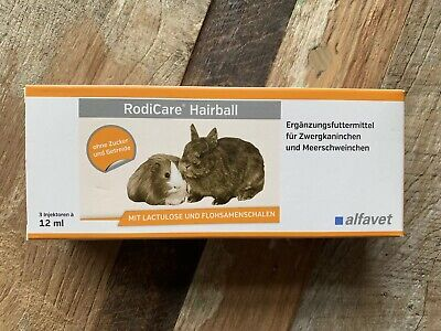 Rodicare Hairball Reduction 36 ML For Rabbits Guinea Pigs Joined Up Droppings