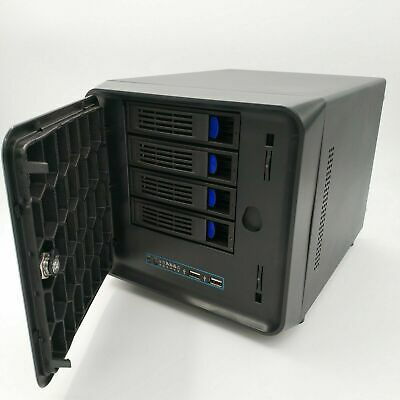 4 Bay/4 core CPU/4G mem/Giga net/16g MSATA  NAS Home Network Storage Refurbished