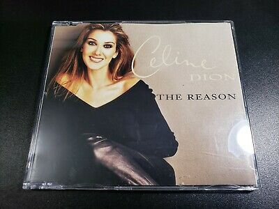 Celine Dion The Reason South African CD Single - flying on my own unison courage