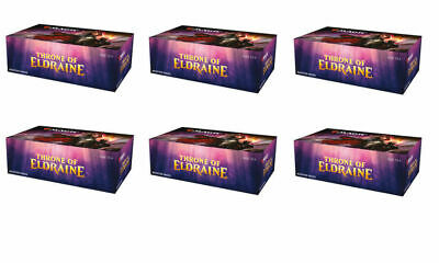 Throne of Eldraine Draft Booster Case (6 Boxes) Magic the Gathering - PREORDER
