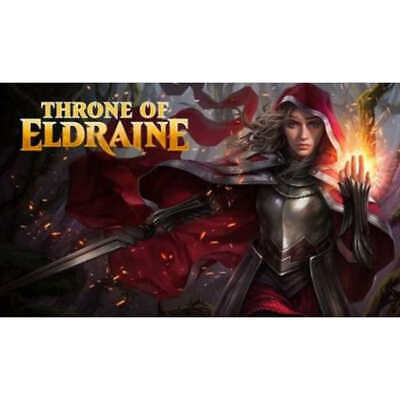 Throne of Eldraine Theme Booster Set of 5 - Magic the Gathering MTG - PREORDER