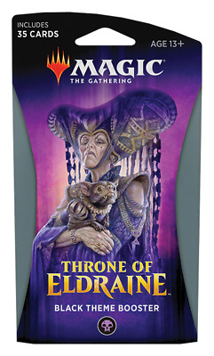 Throne of Eldraine Theme Booster Pack - BLACK - Magic the Gathering MTG
