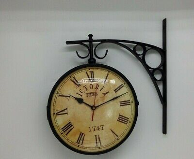 Victoria Station Wall mounted double sided Clock (Railway/Locomotive History)