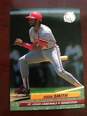 1992 Fleer Ultra Ozzie Smith Auto Vintage Original Signed