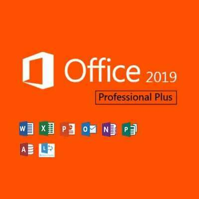 Microsoft Office Professional 2019 Professional Plus Software - Vollversion