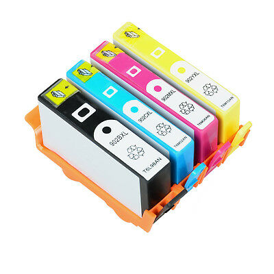 4PK Ink Cartridge for 902XL BCYM HP Officejet Pro 6950 6954 6958 6960 6968 6970