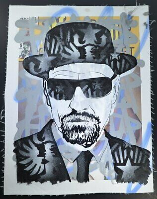 Dillon Boy, 1/1 Original Walter White of Breaking Bad. Hand signed by Dillon Boy