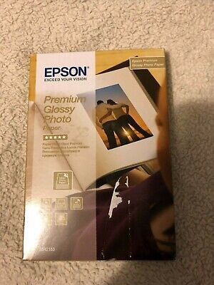 Epson Premium Glossy Photo Paper 100 x 150 mm 255gsm 40 Sheets