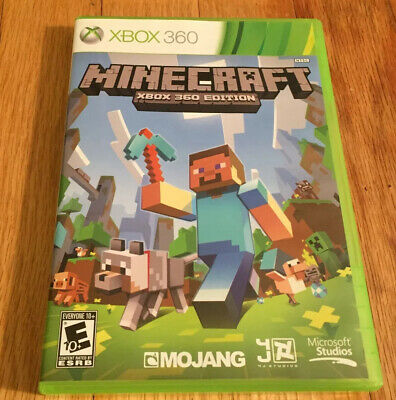 **Case Only** Minecraft (Microsoft Xbox 360, 2013) No Game Included
