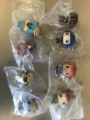 Funko Pop Mini Figure Lot Of 8 Thunder Cats Captain Caveman Flash Holiday Freddy