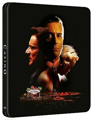 Casino Limited Edition 4K Steelbook (4K Ultra HD + Blu-ray) [UHD]