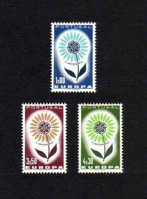 Portugal 1964 Europa complete set of 3 values (SG 1249-1251) MNH