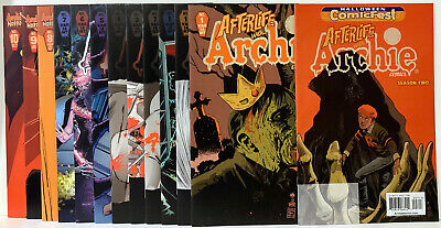 Afterlife With Archie Full Run Nm/M Bagged & Boarded In Mylites