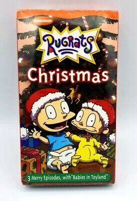 Rugrats Christmas.New Rugrats Christmas Nickelodeon Vintage Retro Vhs Tape Tv Show Nicktoons Rare