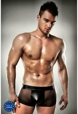 Herren Short Black Pants
