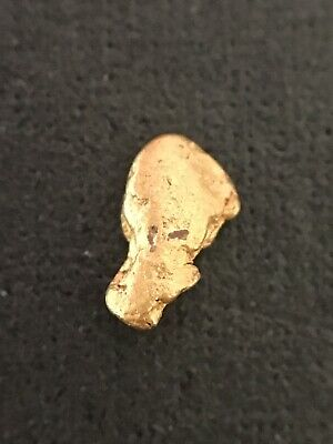 Gold Nugget 0.07 grams West Australian Natural #46