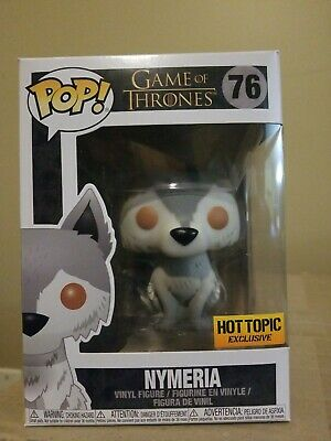 🔥 #76 Funko Pop! - Nymeria - Game Of Thrones - Hot Topic Exclusive