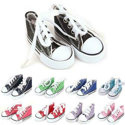 """1Pair 3.5cm Canva Shoes For Blythe Dolls Causal Shoes Mini For 11.5"""" Doll S Q8X2"""