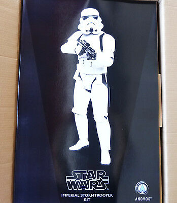 Anovos Star Wars Life-Size Imperial Stormtrooper Kit Figure Statue Bust Lucas
