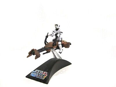 Star Wars Titanium Series Die-cast Imperial Stormtrooper Speeder - Loose