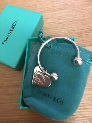 copy of Tiffany keyring Silver , it is silver stamped and is genuine silver