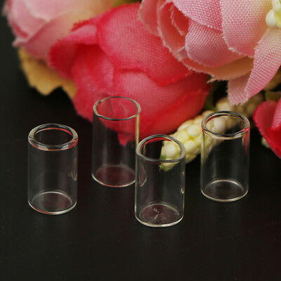 4pc/set Clear Toy Kitchen Bistro Miniature Resin Glass Cups Model ForDollhousecb
