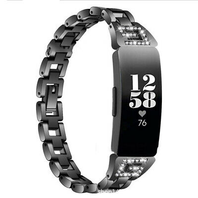 For Fitbit Inspire HR & Inspire Band Wrist Watch Band Metal Hollow Bracelet