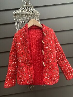 vintage chinese quilted jacket girls