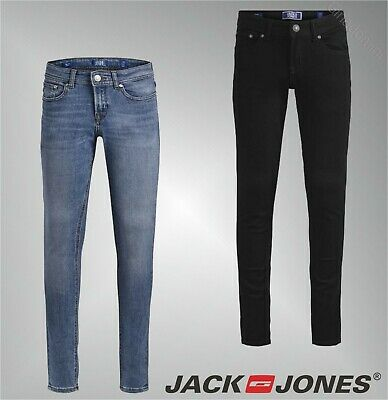 Boys Jack And Jones Sleek Belt Loops Skinny Fit Jeans Sizes Age from 7 to 16