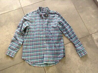 Ralph Lauren POLO Blue Multi checked Casual Long Sleeve Shirt - Size Large