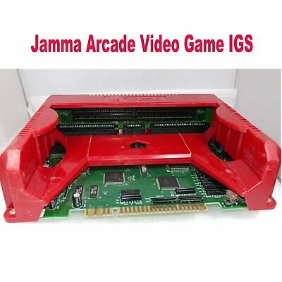 Original Replacement for PGM IGS Motherboard Console Board Jamma Arcade Game Red