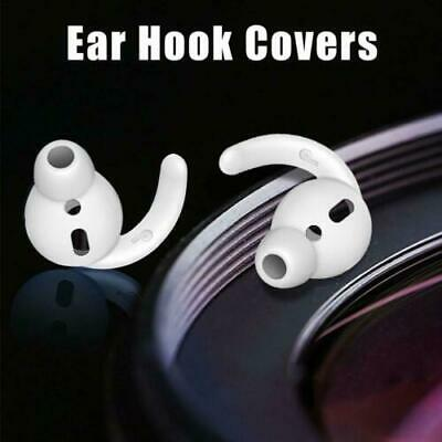 Noise Isolation Silicone Ear Hooks Covers Anti-Slip For Apple AirPods 3 Pairs