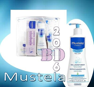 Gentle Cleansing Gel Mustela Baby Skin Hair Body Cleanser Hypoallerg - Baby Care