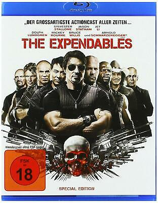 THe Expendables Blu ray Special Uncut Edition Sylvester Stallone + STiCKER