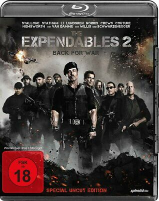 The Expendables 2 Back for war Special uncut edition Blu ray Sylvester Stallone