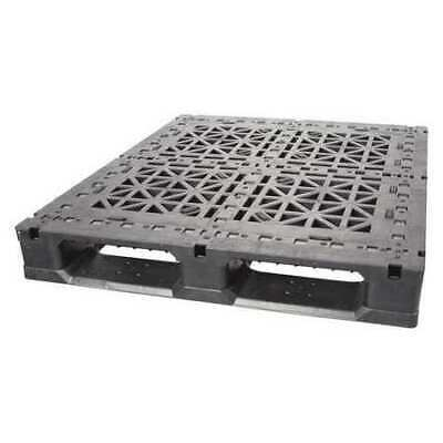 ZORO SELECT GS4840 - 5 ROD Pallet,5,000 lb.,48 In. L,40 In. W,Black
