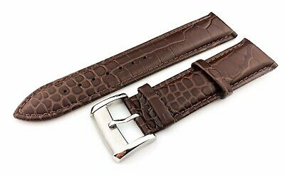 Brown 22mm Genuine Leather Strap/Band fit EMPORIO ARMANI watches + Pins and Tool