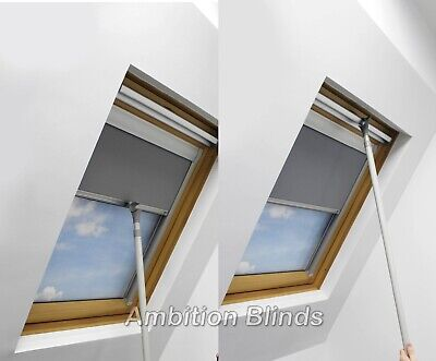 Roller Blinds Blackout For All Optilight  Roof Windows Easy Fit Child Safe