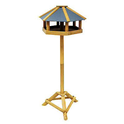Hexagonal BIRD TABLE - STRONG - 100% FSC CERTIFIED - SUSTAINABLE WOOD