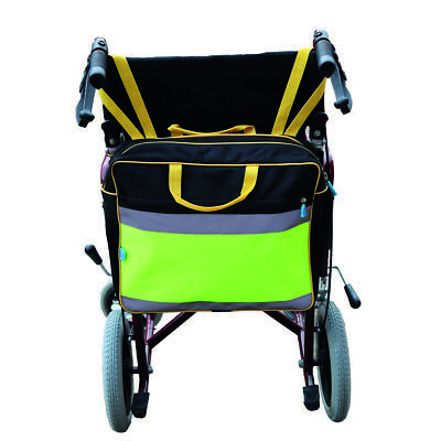 Wheelchair Bag - High visibility shopping bag to fit a wheelchair - Fits easily.