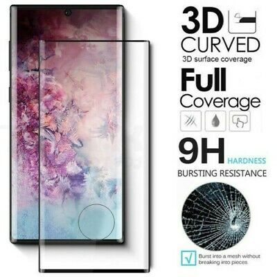 For Samsung Galaxy Note 10 Plus - FULL COVER 3D Tempered Glass Screen Protector