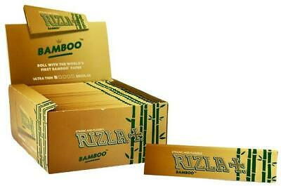 Rizla Bamboo King Size Ultra Thin Rolling Papers Sustainable Chemical Free 110mm