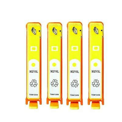 4PK Ink Cartridge for 902XL Yellow HP Officejet Pro 6950 6954 6958 6960 6968